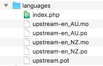 What Languages Does UpStream Support?