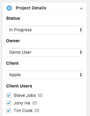 Add users to UpStream projects