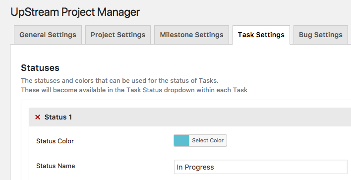 changing the design of the project timeline upstream documentation