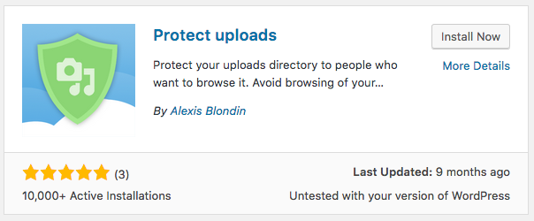 How to Protect Image and File Uploads in WordPress | UpStream