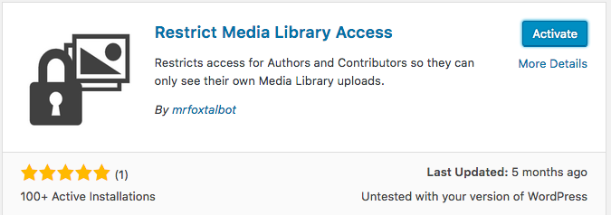 How to Restrict Media Library Access in WordPress | UpStream