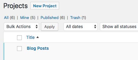 An UpStream project